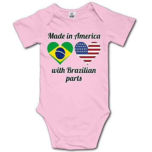 Sunny R Made in America mit Brasilianischen Teilen Newborn Baby Onesies Classic Romper Badesachen 18 M