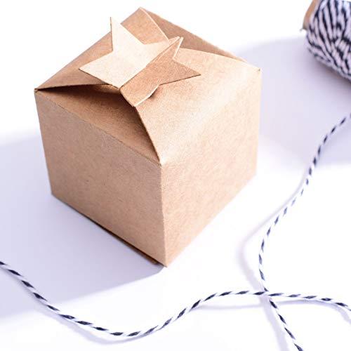 Vaessen Creative Craft Cutting Die, Ster, Maak je eigen Gift Bag, Sieradendoos, Adventskalender, Plaats Tag of Andere Papercraft Projecten, Zilver, 13 x 20,3 cm