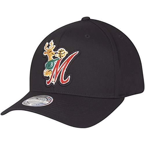Gorra Mitchell & Ness Milwaukee Bucks Negro 6HSSINTL839-MBUBLCK