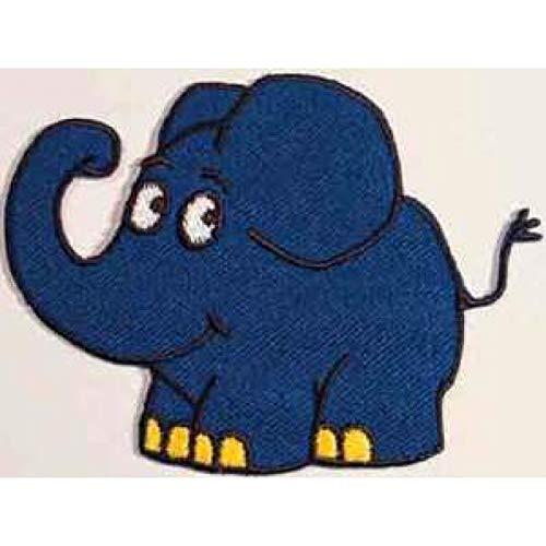 Applikationen - Kids and Hits - aufbügelbar Sendung mit der Maus © Elefant ca. 6,0x8,0 cm farbig