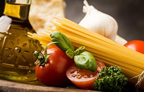 Bilderdepot24 Fototapete selbstklebend Italienische Pasta IV - 155x100 cm - Wandposter Tapete Motivtapete - Küchenbild Italien Nudeln