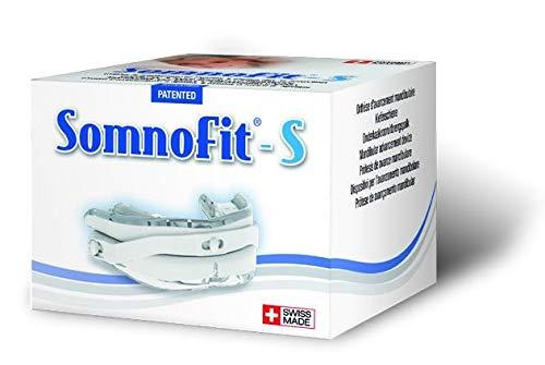 Somnofit S Premium High-End Anti-Schnarchschiene im Set mit Snorepast Ratgeber Rückenlageverhinderung bei Schnarchen
