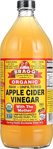 Bragg Organic Apple Cider Vinegar, Raw &...