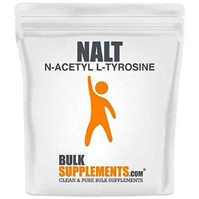 BulkSupplements.com N-Acetyl L-Tyrosine (NALT) Powder - Tyrosine Supplement - Amino Acid (100 Grams)