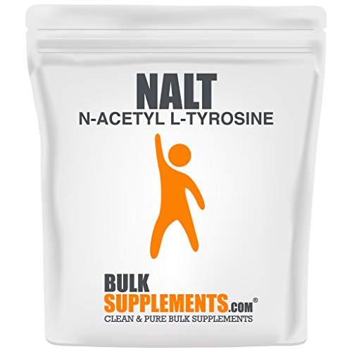 BulkSupplements N-Acetyl L-Tyrosine (NALT) Powder (250 Grams)