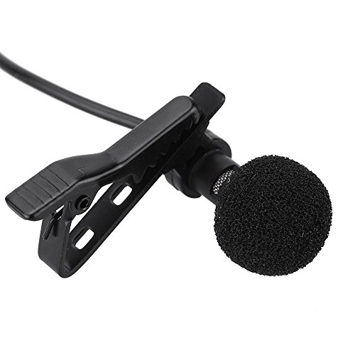 NSs 3.5mm Clip Microphone For Youtube, Collar Mike For Voice Recording, Lapel mike special for mobile only