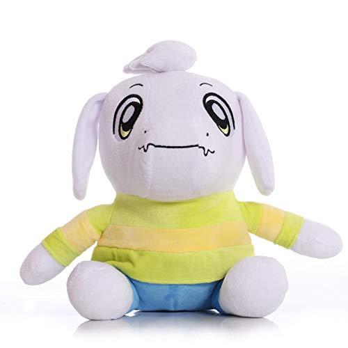 TavasHome Deltarune Undertale Plush Toy, 12'' Stuffed Plush Gift for Game Fans Collection - Asriel