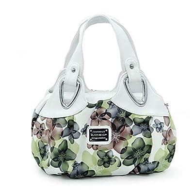 Medium Size Handbag For Ladies, Panzexin New Fashion Print Floral Bag Top Handle Handbags For Women