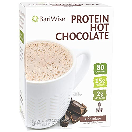 BariWise High Protein Hot Cocoa, Chocolate - Low Carb, Low Calorie,...