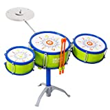 M SANMERSEN Jazz Kids Drum Set, Kids' Toy Drum Set Children Drum Set