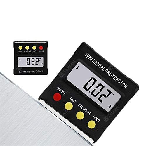 OverTop Degree Mini-Digital-Winkelmesser, Neigungsmesser, elektronische Wasserwaage, magnetische Box