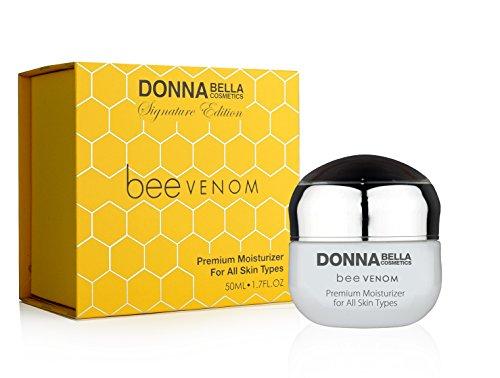 Donna Bella Cosmetics - Hydratant de qualité supérieure de Venin d'abeille pour tous les types de peau