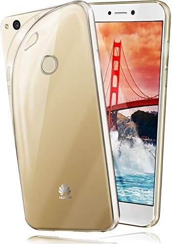 MoEx® Funda [Transparente] Compatible con Huawei P8 Lite 2017 | Ultrafina y Antideslizante - Transparent