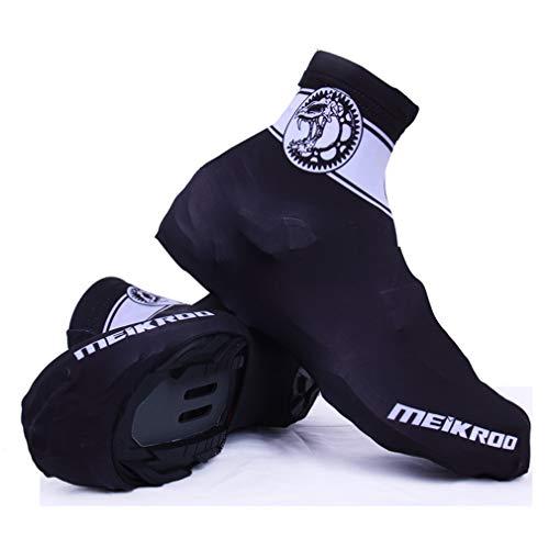 YODZ Cubiertas De Zapatos De Ciclismo, Antideslizante E Impermeable En Bicicleta De Invierno En Bicicleta De Bicicleta Unisex Más Caliente A Prueba De Viento Sujetador Duradero,M