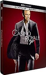 Casino Royale [Édition Limitée SteelBook 4K Ultra HD + Blu-Ray]
