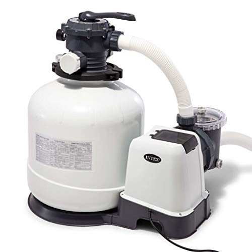 Intex (220-240 Volt), 3200 GPH Sand Filter Pump W/RCD (220-240 Vol