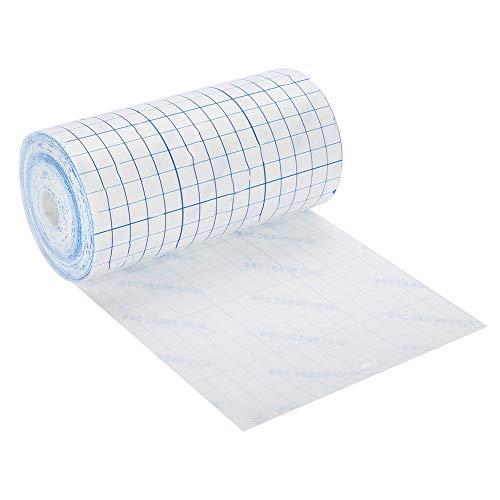 Medizinisches Tape, atmungsaktives Klebeband, Vlies-Bandage zur Fixierung elastischer und wasserdichter Bandage für Nacken, Rücken, Schulter, Arme, Handgelenke, Oberschenkel, Knie