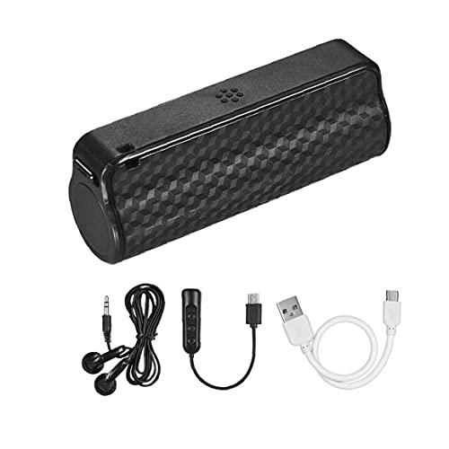 Odoukey Grabador Inteligente Pluma 32G Negro Mini grabadora de Voz, grabadora de Audio portátil Negro