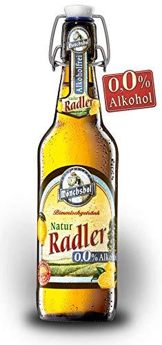 20 Flaschen Mönchshof Kulmbachernatur Radler Alkoholfrei 0,0% l a 0,5L inc. 3.00€ MEHRWEG Pfand