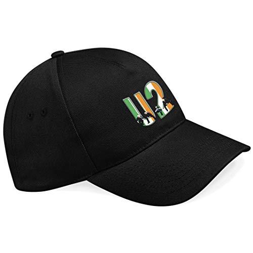 U 2 U2 Rockband Rock Music Legends Schwarze Baseball Cap Mütze -k246