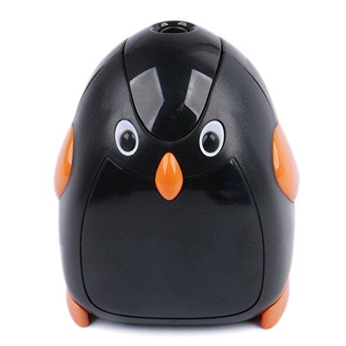 Eagle Cartoon Electric Pencil Sharpener, Battery Operated, Penguin