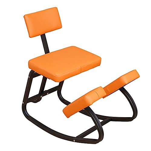 N / E Ergonomic Kneeling Chair with Back Support, Kneeling Stool for Office and Home, Posture Corrective Seat for for Relief Leg Pain and Body Shaping Aocay