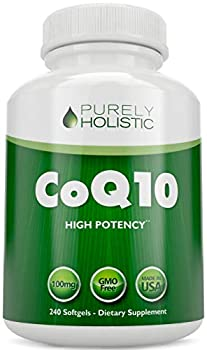 CoQ10 240 SoftGels ★ 100% Money Back Guarantee ★ High Absorption Coenzyme Q10 ★ Made in The USA to GMP Standards ★ Up to 8 Month s Co Q 10 Supply