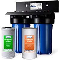 iSpring 2-Stage Whole House Water Filtration System