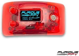 FuriousFPV True-D X Red (for FatShark Dominator V1/V2/V3 & HD V2/V3 HDO)