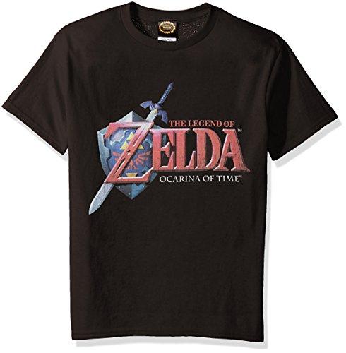 Nintendo Little Boys Zelda Hey Ocarina Graphic T-shirt, black, YM