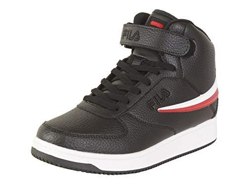 Fila Zapatillas altas para hombre., (Negro/Rojo/Blanco), 43 EU