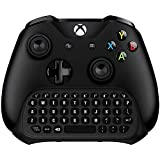 Xbox One Keyboard, Koiiko Mini Wireless Gaming Chatpad Keypad Gamepad with 3.5mm Audio/Headset Jack & Mouse Function for Microsoft Xbox One, Xbox One S X and Elite 1 2 Controller - 2.4GHz
