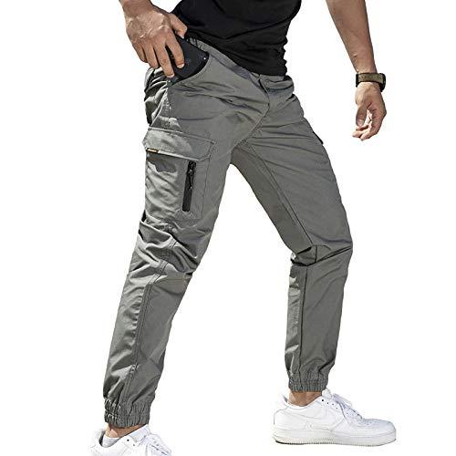 LIMILI Pantalones de camuflaje para hombre, estilo informal, para correr, tácticos militares, pantalones cargo 3 M