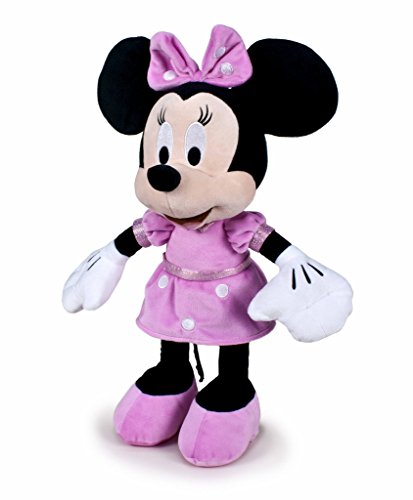 Famosa Softies- Mickey Mouse Minnie Club House, 43 cm (
