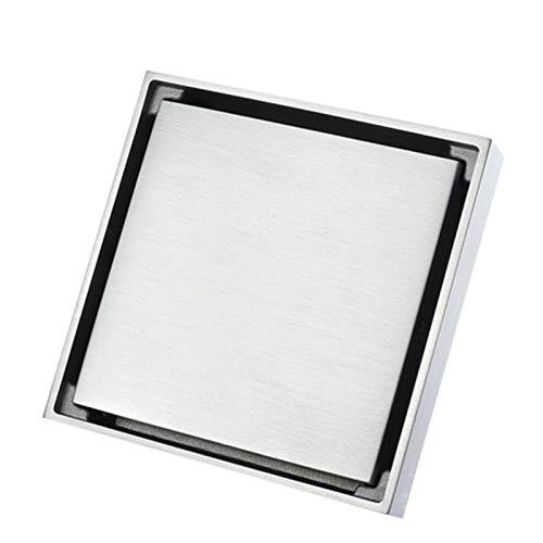 YWSZY Drenaje del Piso Inserción de Azulejos Baño de Drenaje de Piso Cuadrado Invisible Cepillado Diseño Moderno Desodorización de baños de desodorización. (Color : Y38107)