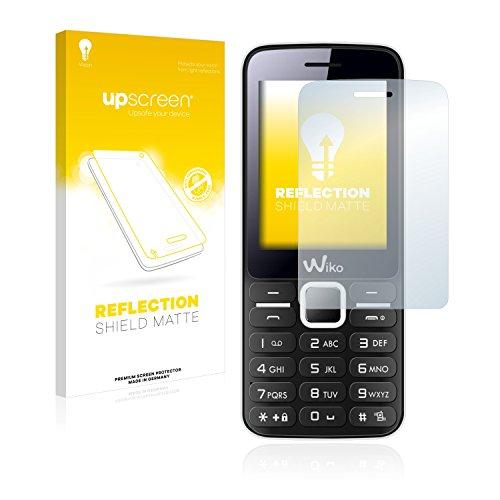 upscreen Entspiegelungs-Schutzfolie kompatibel mit Wiko Riff – Anti-Reflex Bildschirmschutz-Folie Matt