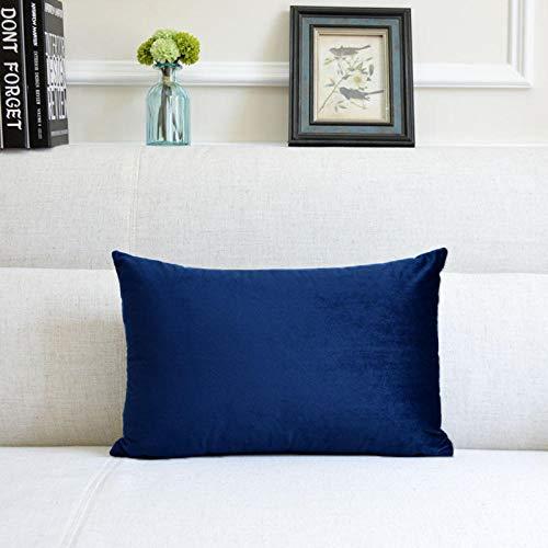 Almohada,Diseño ergonómico para un Mejor Soporte para Dormir en la Cabeza, el Cuello y los Hombros Almohada -Azul Tibetano Azul_40x60cm