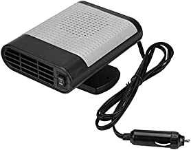 SONYANG Portable Car Heater Defroster 12V Car Heater Cooling Fan Window Demister Fast Heating Quickly Defrosts Defogger Windscreen De-Icer Gray