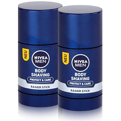 Nivea Body Shaving Rasier Stick 75ml - Protect & Care (2er Pack)