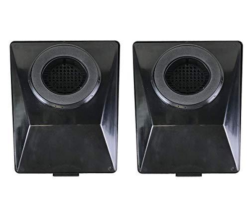 OxoxO Vervang Stofzuiger HEPA Filter Crucial voor Rainbow E2-Series, Compatibel met Deel # R12179 & R12647B Wasbaar & Herbruikbaar 2pcs
