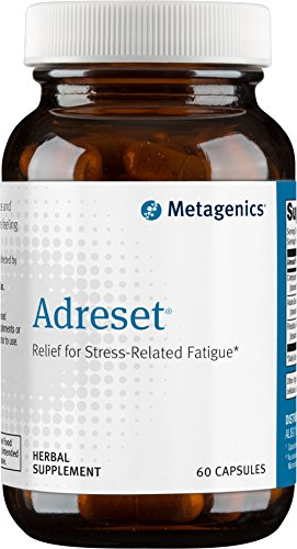 Metagenics Adreset® – Relief for Stress-Related Fatigue* | 30 2-capsule servings