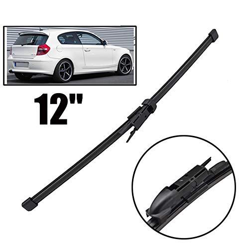 SLONGK Per BMW Serie 1 116i 116d 118i 118d 120i 120d 123d 130i E81 E87 2004-2011, tergicristallo 12'Posteriore tergicristallo lunotto Parabrezza lunotto Posteriore