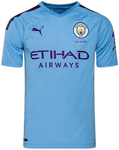 マンチェスター・シティFC ホームユニフォーム 2019/20 [17 デ・ブライネ] [サイズ:インポートL] Manchester City FC Home Shirt 2019/20 [17 DE BRUYNE] [Size:Import L] [並行輸入品]