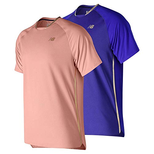 New Balance Tournament Movement - Camiseta para Hombre,...