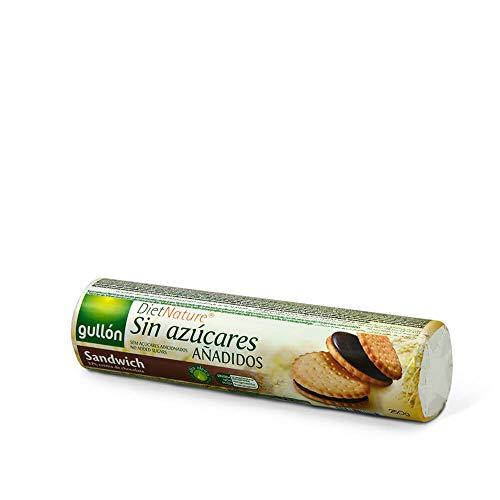 Gullón - Galleta Sándwich chocolate sin azúcar Diet Nature 250g