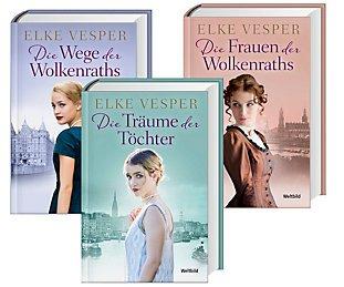 Familien-Wolkenrath-Saga - Die Frauen der Wolkenraths / Die Träume der Töchter / Die Wege der Wolkenraths