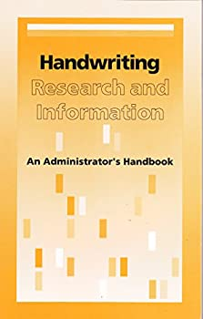 Paperback Handwriting research and information: An administrator's handbook Book