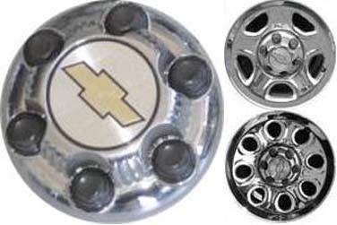 16 Inch OEM Chevy 6 Lug Chromed Center Cap Hubcap Wheel Cover, 1999-2011 # 9598133 9598135 9598137