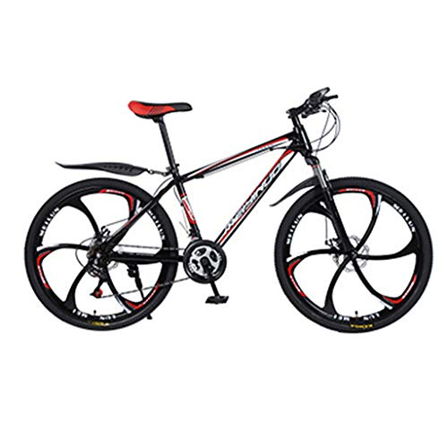 Find Bargain Jocund 26 inch 21 Speed Outroad Mountain Bike, Adult Student High Carbon Steel Bike Dou...