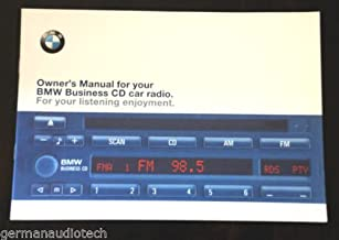 BMW BUSINESS CD PLAYER RADIO STEREO BLAUPUNKT CD43 - NEW ORIGINAL OWNER'S MANUAL GUIDE BOOK